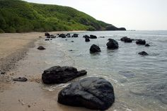 Rocks Along a Beach in the Yasawa Islands, Fiji