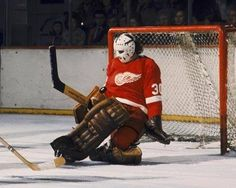 Hockey Games, Ice Hockey, Goalie Mask, Detroit Red Wings, Nhl, Old School, 4 Life, Albums, Sports