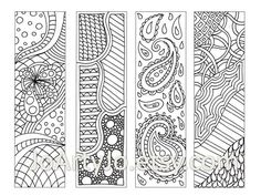Zentangle Patterns for Beginners | Zentangle Patterns Printable ...