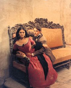 Claudia Cardinale with Alain Delon from The Leopard (1963)