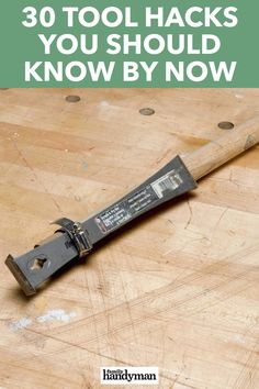 Tools are supposed to make work easier but you can make your tools work better for you with these tool hacks you should know by now. Yard Tools, Garage Tools, Simple Life Hacks, Useful Life Hacks, Cool Tools, Diy Tools, Driveway Markers, Yard Sale Signs, Home Fix
