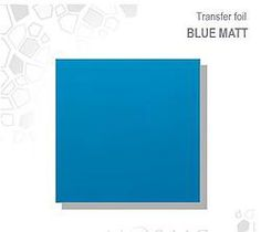 Mosaic Transfer Foil Matt Blue MATT BLUE TRANSFER FOIL £2.50 www.susansnailstore.co.uk  CHECK OUT OUR MIX&MATCH OFFER ON TRANSFER FOILS!