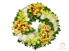 Funeral wreath Toronto - Flowers and Blossoms Casket Sprays, Sympathy Flowers, Funeral Flowers, Floral Wreath, Wreaths, Blossoms, Toronto, Flowers, Door Wreaths