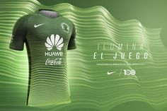 Terceira camisa do Club América 2017 Nike