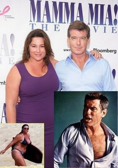 Love is Blind Celebrities (6 of 37): Pierce Brosnan and Keely Shaye Smith