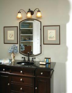Best Quoizel Bathroom Images On Pinterest Brushed Nickel - Quoizel bathroom mirrors