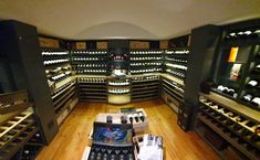 Solid oak & MDF-sprayed wine cellar. Kühn Houtwerke is situated in the Boland, Cape Winelands area. We specialize in kitchen cupboards, bedroom cupboards, solid woodworking, custom furniture and much more. For quotations please email us at khoutwerke@icon.co.za or visit our page and follow us on Pinterest. Bedroom Cupboards, Kitchen Cupboards, Wine Cellars, Bar Counter, Custom Furniture, Solid Oak, Liquor Cabinet, Quotations, Cape