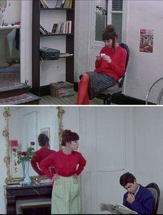 Chez Angela et Emile (dans Une Femme est une Femme, 1961)