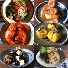 Japanese New Year, Japanese Food, New Year's Food, Shrimp, Main Dishes, Meat, Cooking, Recipes, Party Ideas