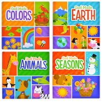 God Made . Padded Board Books, Set by The Clever Factory Bible Illustrations, Dollar Tree Store, Color Activities, Make Color, Stocking Stuffers, Coloring Books, Clever, God, Reading