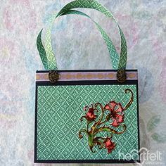 Fanciful Purse and Cards - Heartfelt Creations