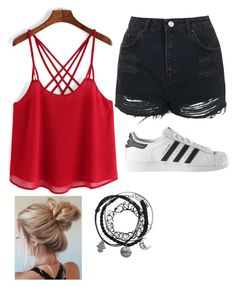 """""""Urban/Hipster"""" by explorer-14571193385 on Polyvore featuring Topshop and adidas"""