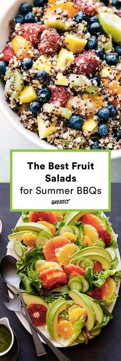 """""""I'll bring the fruit salad!"""" will be you all summer long. #greatist https://greatist.com/eat/best-fruit-salad-recipes"""