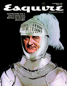 Esquire, art director: George Lois  November 1965. Art Experience:NYC http://www.artexperiencenyc.com/social_login