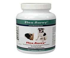 My dog has fleas what do I do? Use this stuff...
