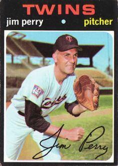 500 - Jim Perry - Minnesota Twins