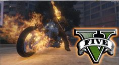 This mod brings Ghost Rider  with his motorcycle and his powers  to Grand Theft Auto V