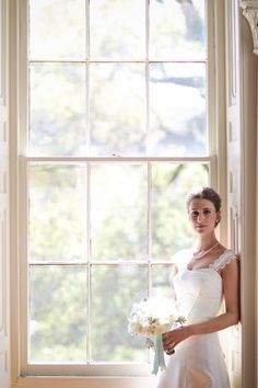 bridal portrait - historic home