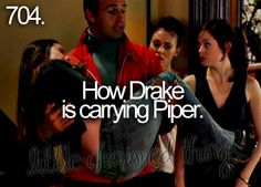 Drake carrying Piper - Little charmed things #tv #show