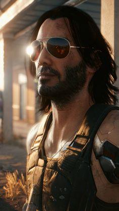 Keanu Reeves Cyberpunk 2077 2020 4K Ultra HD Mobile Wallpaper. Cyberpunk Games, Arte Cyberpunk, Cyberpunk 2077, Keanu Reeves House, Fantasy Comics, Science Fiction Art, Night City, Shadowrun, Post Punk