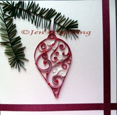 Paper quilling is not a accepted art in Kenya; indeed, best Kenyans accept no abstraction what cardboard quilling is. Paper Quilling Cards, Paper Quilling Patterns, Origami And Quilling, Quilling Craft, Quilling Tutorial, Ornament Tutorial, Quilling Christmas, Christmas Craft Projects, Quilled Creations