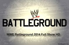 WWE Battleground 2014 The pay-per-view perspective will be gone before by an extraordinary half-hour pre-show starting at 7:30 p.m. ET. For every Wwe.com, it will emphasize a match between previous Funkadactyls accomplices Naomi and Cameron. That could be seen through the greater part of the accompanying stages:  WWE Network  Wwe.com  WWE App  Youtube  Facebook  Twitter  Google+