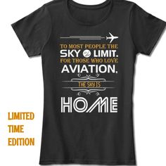 Discover National Aviation Day T-Shirt from Aviation, a custom product made just for you by Teespring. National Aviation Day, Tee Design, Shirt Designs, Just For You, Tees, T Shirt, Women, Supreme T Shirt, Chemises