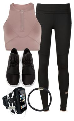 """Style #11129"" by vany-alvarado ❤ liked on Polyvore featuring adidas, adidas Originals and Hershesons"