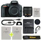 Nikon D5500 Digital SLR Camera with 18-55mm NIKKOR VR Lens + Backup Power Kit