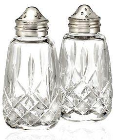 Waterford Serveware, Lismore Salt & Pepper Shakers