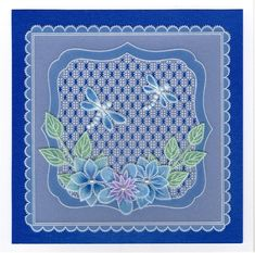 Inspiration | docrafts.com Hobbies And Crafts, Crafts To Make, Parchment Design, Parchment Cards, Lace Flowers, Paper Cards, Christmas Cards, Projects To Try, Butterfly