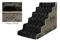 LUXURY DOG STAIRS (4 STEP) U2013 Free Shipping And Tax Included On All Designer