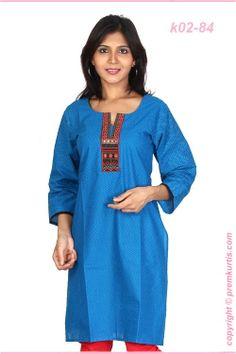 Cambric cotton kurtis manufacturers