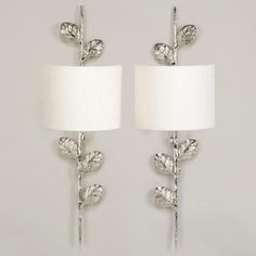 Bling bling- Vaughan Designs | Leaf Wall Lights