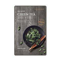 [THE FACE SHOP] Real Nature Green Tea (5PCS)