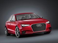 Audi A3 Sedan Concept http://giornalemotori.it/70380/audi-a3-nasce-la-sedan/