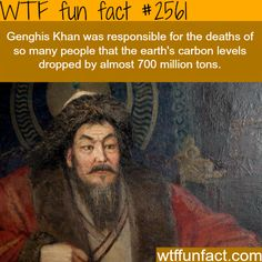 How many people did Genghis Khan kill? - WTF fun facts