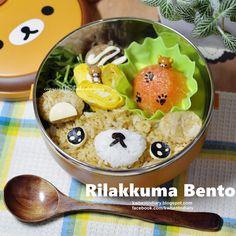 Karenwee's Bento Diary: Bento2014#Nov26~Rilakkuma Bento