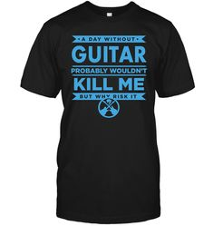 Funny Guitar Shirts Officially Licensed Band T-Shirts Guitar FX Pedal Mens Printed T Shirts, Branded T Shirts, Rock Band Tees, Shirt Shop, Festivals, Stitching, Stage, Guitar, Neckline