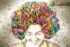 Klinkers in Beeld: Portret carnaval met confetti en serpentines