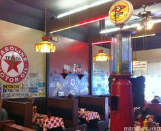 Kid-Friendly Restaurants in Northwest Arkansas - Adventures of Mel Best Interior Design Websites, Kid Friendly Restaurants, Eureka Springs, Texaco, Cafe Interior, Popcorn Maker, Places To Eat, North West