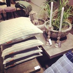 Welcome to Spring and Summer with rough concrete and soft cotton cushions :-) #danishdesign #cozyliving #cozylivingcopenhagen #formex2016 @formexstockholm #spring #summer #news