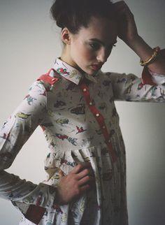 Photography: Bradley Spitzer H/MU: Angie Sturdivant Model: Izzy Spain