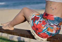 Canga Redonda Flores Rosas - Ateliê Juju  #surf #amor #feitonobrasil #riodejaneiro #carioca #madeinrio #tendencia #love #beachlife   #verao #sol #goodvibes   #adoroateliejuju   #quemfezminhasroupas   #cangaredonda   #praia   #feitocomamor   #vidapraia  #compradequemfaz