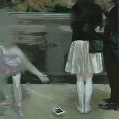 LARS ELLING Polaroid, 2012 tempera on canvas 393/8 x 393/8 inches (100 x 100cm)