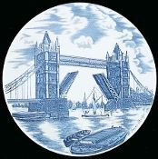 Johnson Brothers Tower Bridge Plate