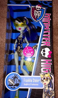 Monster High Frankie Stein Swim Justice Exclusive Just Released