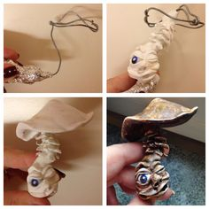 Stel by step for my Mushroom in polymer clay