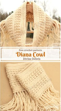 Diana Cowl Pattern -