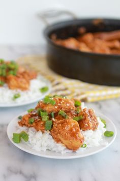 Healthier General Tso's Chicken - Half Baked Harvest